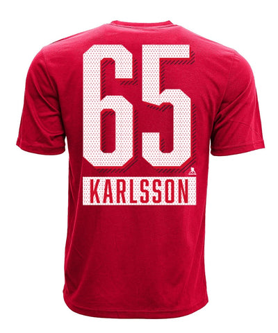 ERIK KARLSSON OTTAWA SENATORS LEVELWEAR MEN'S ICING NAME & NUMBER T SHIRT