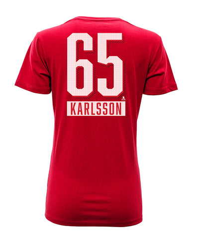 ERIK KARLSSON OTTAWA SENATORS LEVELWEAR WOMEN'S  NAME & NUMBER T SHIRT