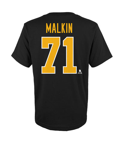 EVGENI MALKIN PITTSBURGH PENGUINS KID'S PLAYER T SHIRT