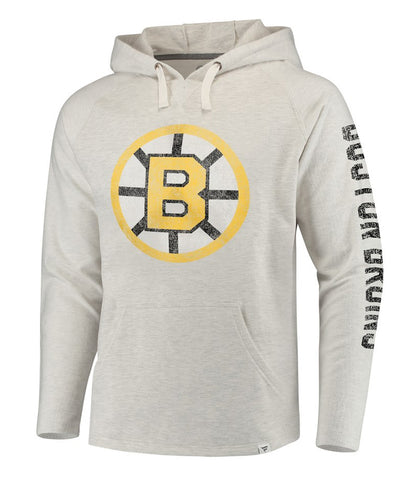 FANATICS BOSTON BRUINS TRUE CLASSICS FRENCHTERRY HOODIE