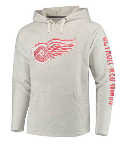 FANATICS DETROIT RED WINGS TRUE CLASSICS FRENCHTERRY HOODIE