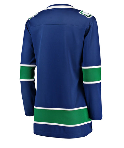 FANATICS VANCOUVER CANUCKS WOMEN'S BREAKAWAY HOME JERSEY