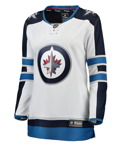 FANATICS WINNIPEG JETS WOMENS AWAY BREAKAWAY JERSEY