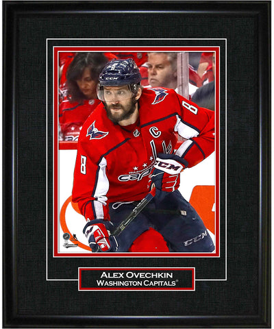 FRAMEWORTH ALEX OVECHKIN WASHINGTON CAPITALS FRAMED 8X10 PRINT