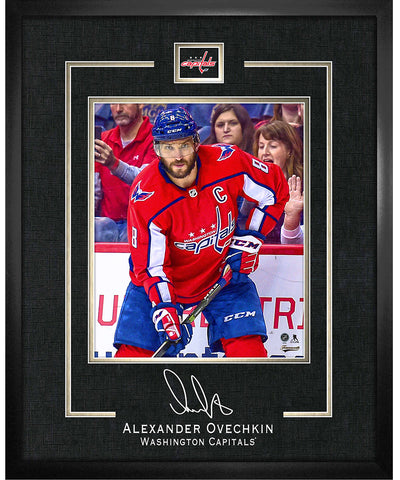 FRAMEWORTH ALEX OVECHKIN WASHINGTON CAPITALS FRAMED REPLICA SIGNATURE - 16X20