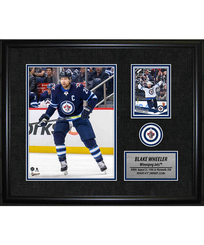 FRAMEWORTH BLAKE WHEELER WINNIPEG JETS FRAMED PHOTOCARD PRINT