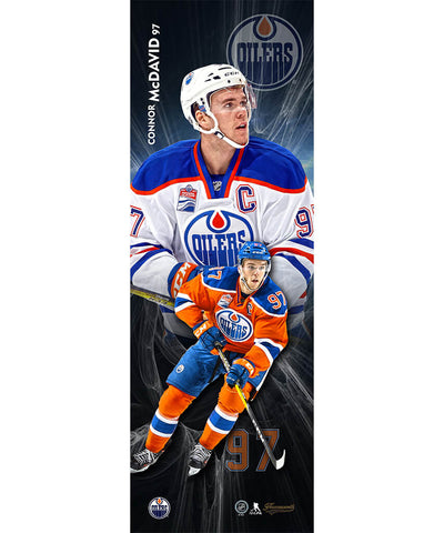 FRAMEWORTH CONNOR MCDAVID EDMONTON OILERS PLAQUE