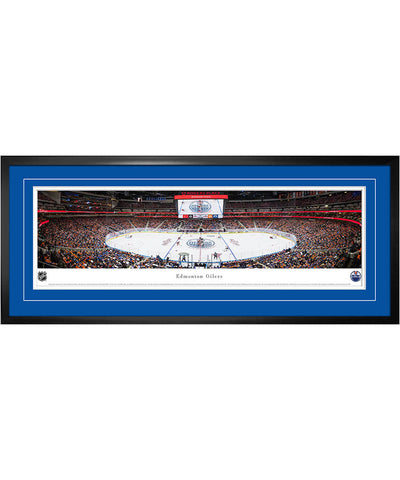 FRAMEWORTH EDMONTON OILERS FRAMED PANORAMIC