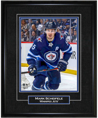 FRAMEWORTH MARK SCHEIFLE WINNIPEG JETS FRAMED 8X10 PRINT