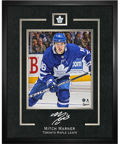 FRAMEWORTH MITCH MARNER TORONTO MAPLE LEAFS FRAMED REPLICA SIGNATURE - 16X20