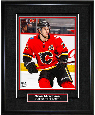 FRAMEWORTH SEAN MONAHAN CALGARY FLAMES FRAMED 8X10 PRINT