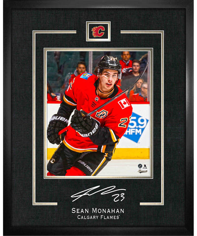 FRAMEWORTH SEAN MONAHAN CALGARY FLAMES FRAMED REPLICA SIGNATURE - 16X20
