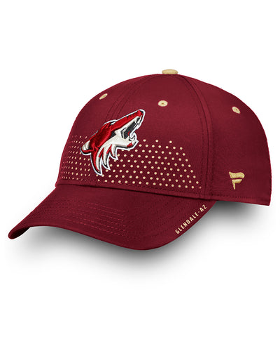 ARIZONA COYOTES FANATICS SENIOR 2018 NHL DRAFT HAT