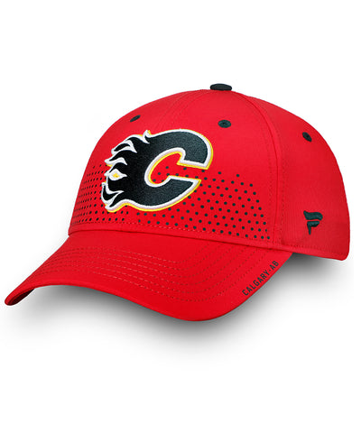 CALGARY FLAMES FANATICS SENIOR 2018 NHL DRAFT HAT