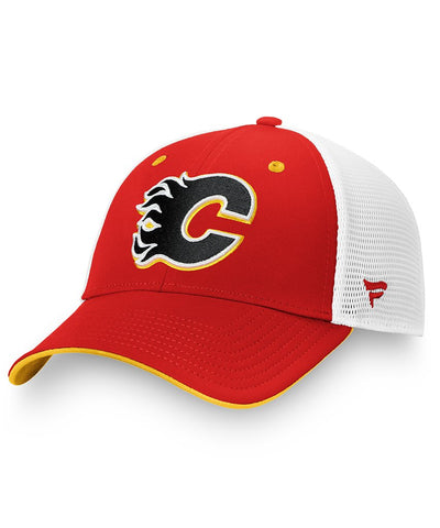 FANATICS CALGARY FLAMES MEN'S PRIMARY LOGO HAT