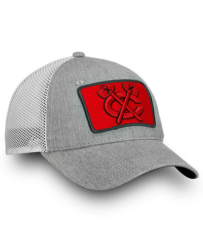 FANATICS CHICAGO BLACKHAWKS INDESTRUCTIBLE TRUCKER CAP