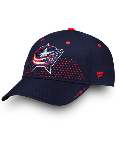 COLUMBUS BLUE JACKETS FANATICS SENIOR 2018 NHL DRAFT HAT