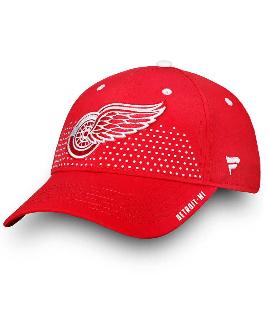 newest 6a24d 0a8ae ... free shipping detroit red wings fanatics senior 2018 nhl draft hat  5f911 c3168