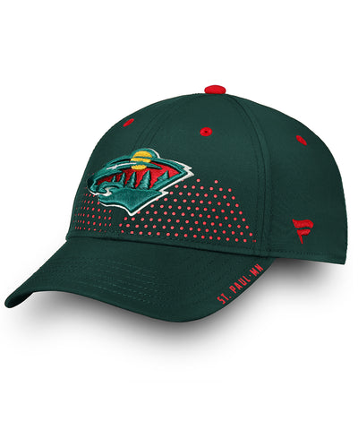 MINNESOTA WILD FANATICS SENIOR 2018 NHL DRAFT HAT