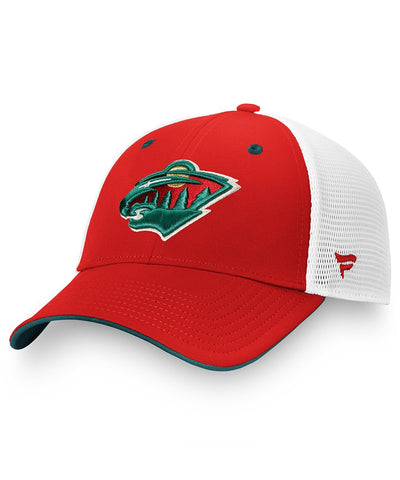 FANATICS MINNESOTA WILD MEN'S PRIMARY LOGO HAT