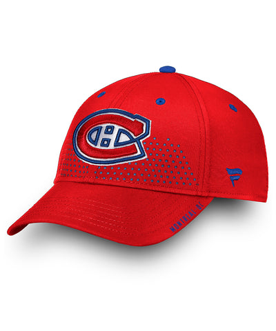 MONTREAL CANADIENS FANATICS SENIOR 2018 NHL DRAFT HAT