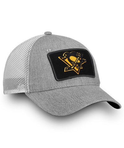 FANATICS PITTSBURGH PENGUINS INDESTRUCTIBLE TRUCKER CAP