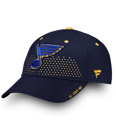 ST. LOUIS BLUES FANATICS SENIOR 2018 NHL DRAFT HAT