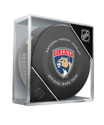 FLORIDA PANTHERS 2019 OFFICIAL GAME PUCK
