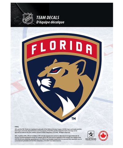 "FLORIDA PANTHERS 5"" X 7"" NHL TEAM DECAL"