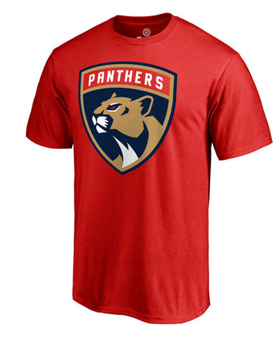 FLORIDA PANTHERS FANATICS MEN'S PRIMARY LOGO T SHIRT