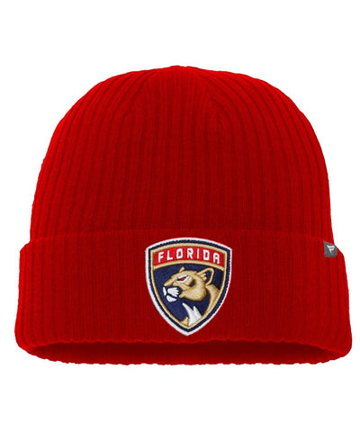 FANATICS FLORIDA PANTHERS CORE KNIT TOQUE