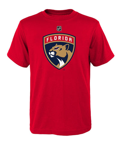 FLORIDA PANTHERS KID'S PRIMARY LOGO T SHIRT