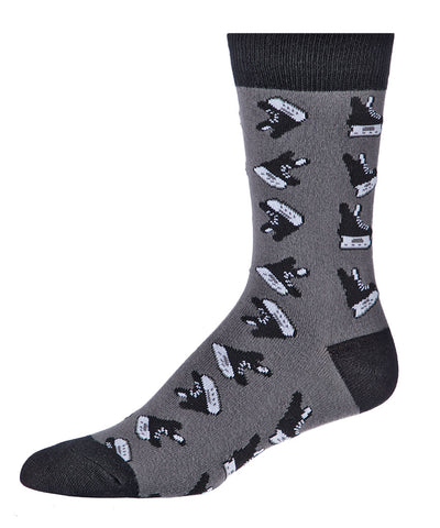 GONGSHOW MEN'S DRESS SOCKS - SKATES