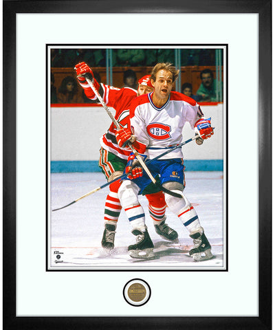 GUY LAFLEUR MONTREAL CANADIENS ICONS COLLECTION - 18X22