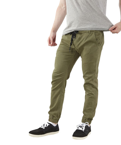 GONGSHOW GREEN JOGGER CHINO SR PANTS
