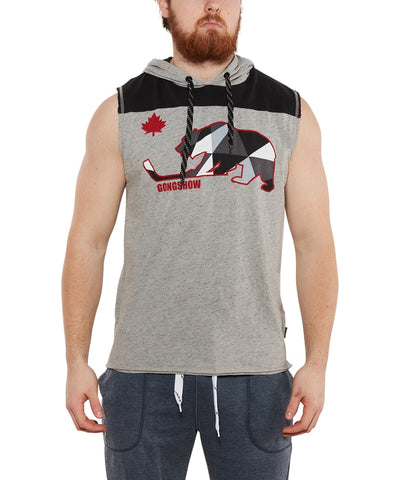 GONGSHOW MEN'S BEAR SLEEVES TANK