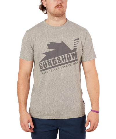 GONGSHOW MEN'S CANUCK T SHIRT - GREY
