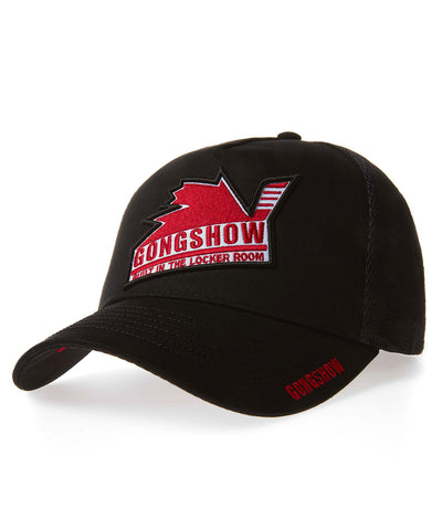 GONGSHOW CANUCK EXPRESS BLACK MEN'S CAP
