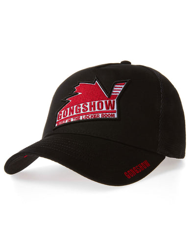 GONGSHOW CANUCK EXPRESS BLACK KIDS CAP