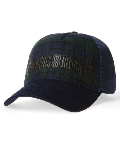 GONGSHOW RAD AND PLAID WOMENS CAP