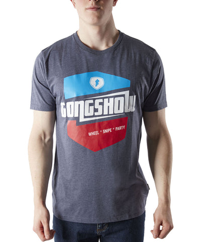 GONGSHOW SWITCH UP THE LINES SR T-SHIRT