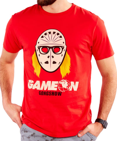 GONGSHOW GAME ON MEN'S T-SHIRT