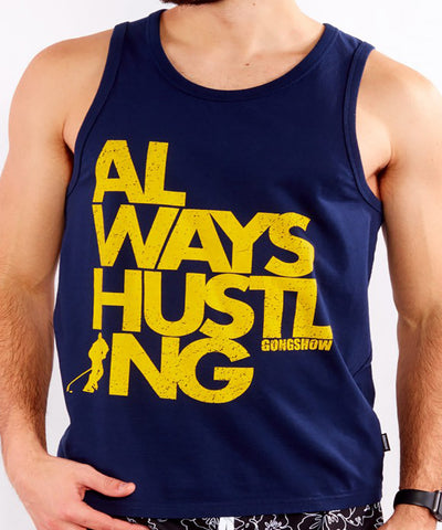 GONGSHOW CAN'T KNOCK THE HUSTLE MEN'S TANK TOP