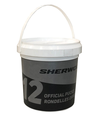 HOCKEY PUCK BUCKET - 12 PACK