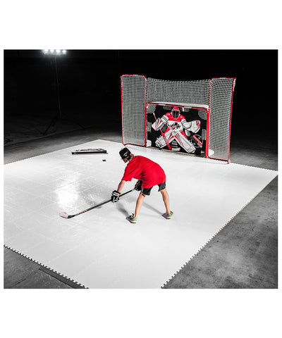 HOCKEY SHOT DRYLAND ALLSTAR SYNTHETIC ICE TILES - 10 PACK