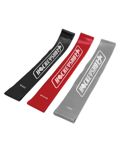 HOCKEY SHOT MINI RESISTANCE BANDS (3 PACK)