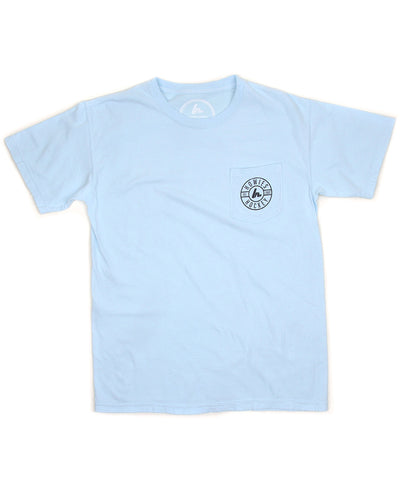 HOWIES HOCKEY MEN'S POCKET T SHIRT - BLUE