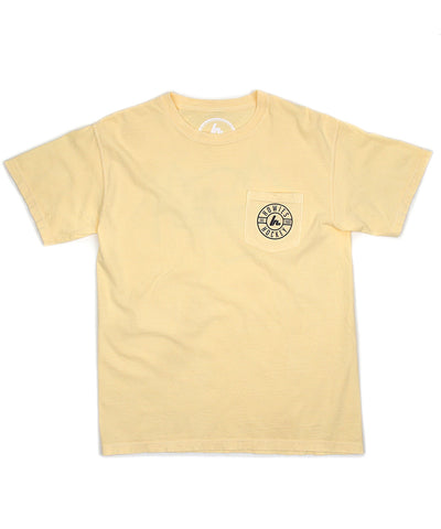HOWIES HOCKEY MEN'S POCKET T SHIRT - YELLOW