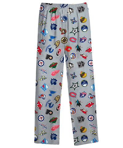 NHL TODDLER ALL OVER PRINTED LOGO PANTS