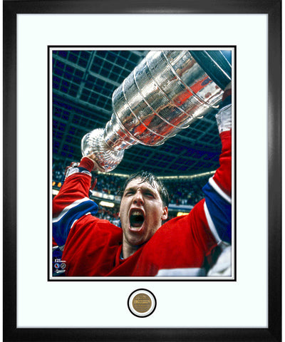 JEAN BELIVEAU MONTREAL CANADIENS ICONS COLLECTION - 18X22